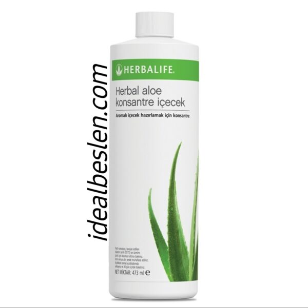 herbal aloe konsantre içecek