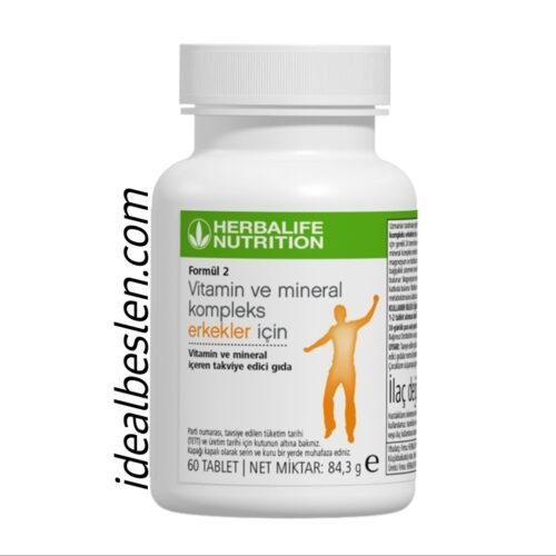 Formül 2 Erkekler İçin Özel Vitamin Mineral Kompleks