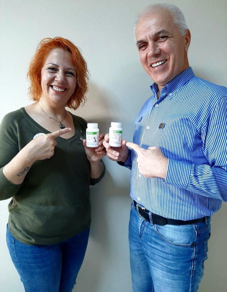 Herbalife Nutrition, Kadınlara ve Erkeklere özel vitamin, mineral kompleks tabletler