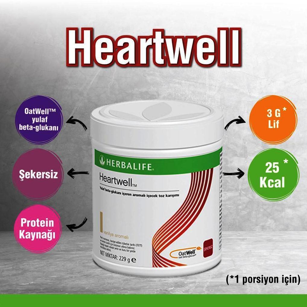herbalife Nutrition Heartwell Yulaf Beta Glukanı İçeren Aromalı İçecek Tozu Karışımı