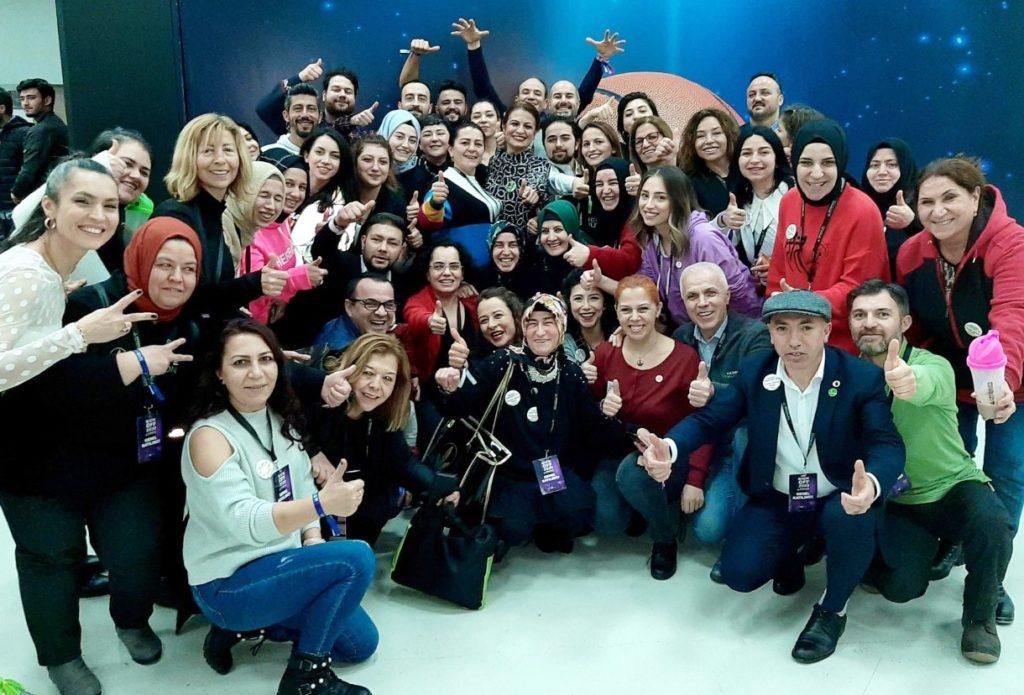 Herbalife Nutrition 2020 Kick Off eğitimi İstanbul Sinan Erdem Spor Salonu