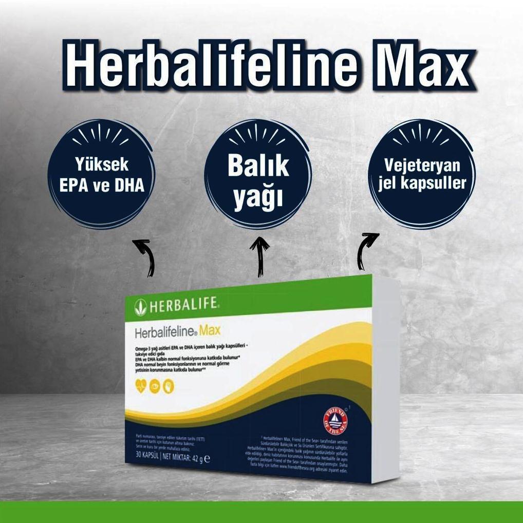 Herbalife Nutrition Ürünlerinden, Herbalifeline max