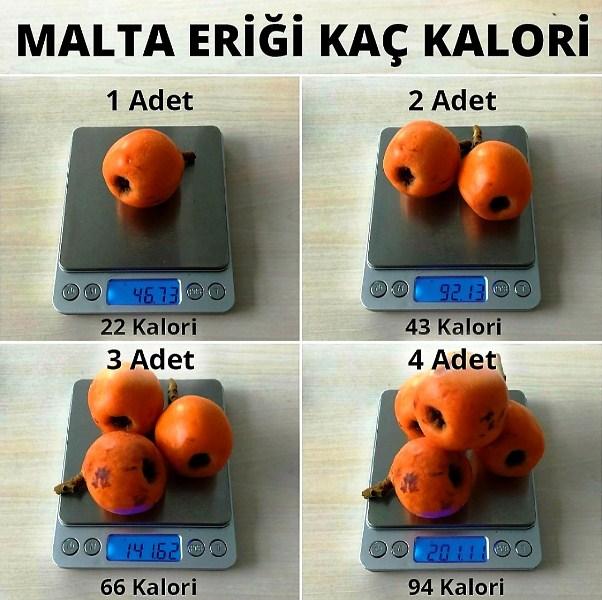 Malta Eriği bir başka adı ile Yeni Dünya iri çekirdekleri yüzünden farklı bir meyve. Kalori açısından ise çok fazla abartmadan yenmeli.