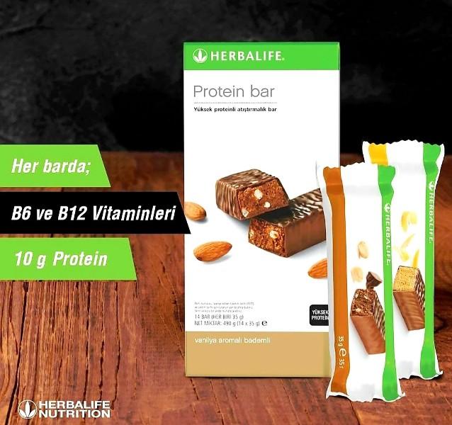 Ara öğün bulmakta ve çikolata konsepti heves edenlere Herbalife protein bar.