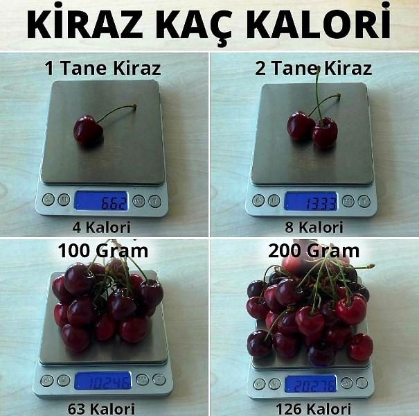 Kiraz rengi, tadı, görünüşü ile eşsiz bir meyvedir. Çok fazla kalori içermese de yerken kendinizi kaptırmayın.