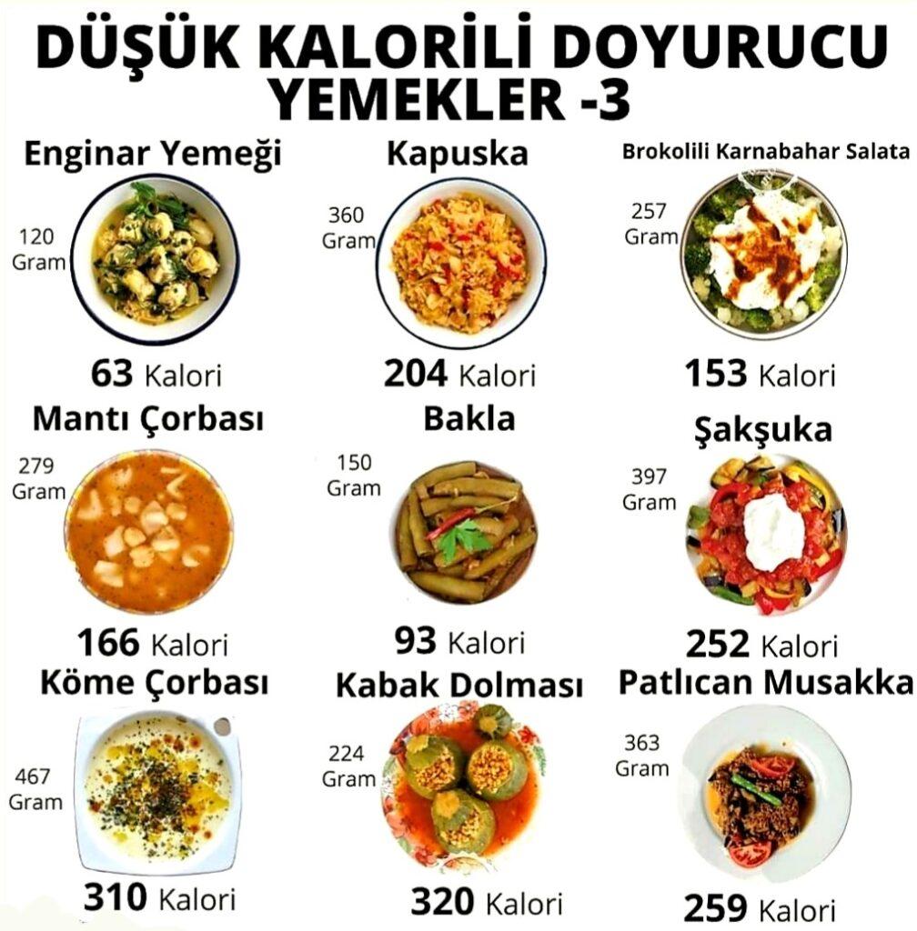 Çok kalori içermeyen doyurucu yemekleri merak ediyor musunuz?