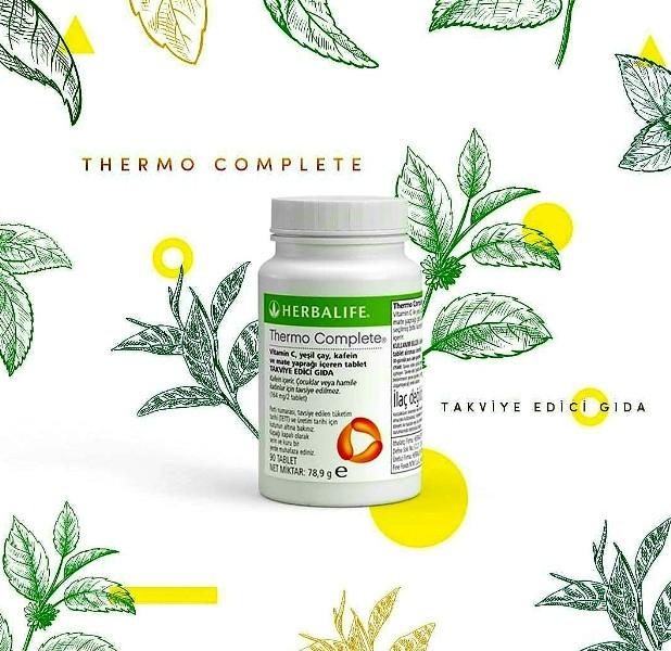 Herbalife Termo Complete, vücudumuz için hazırlanan şahane bir destek.