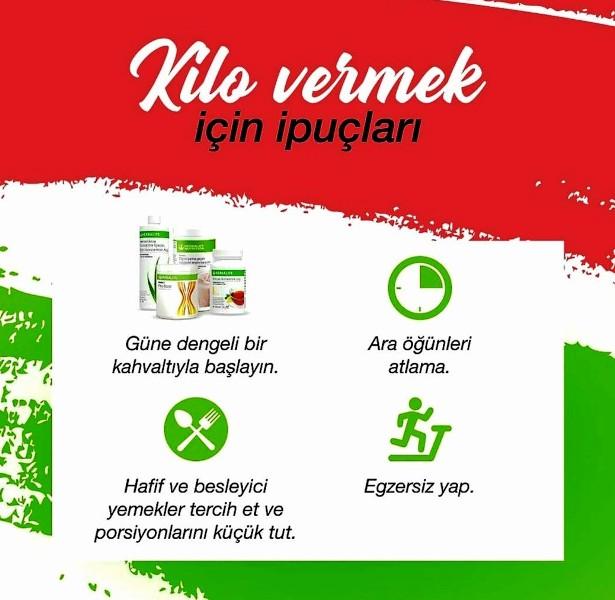 ideal Herbalife Nutrition Kahvaltısı ile başlanan güne dengeli beslenme ve egzersiz ile devam edilmeli.
