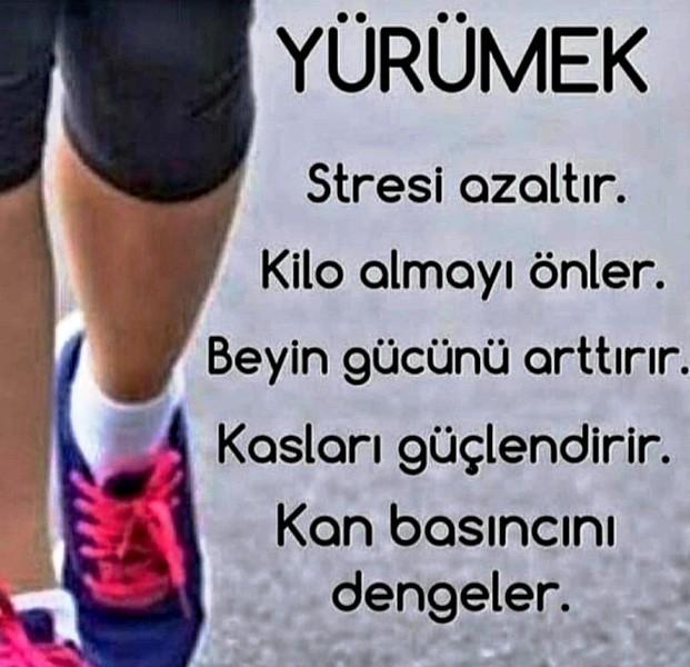 Yürüyüş bir egzersiz değil, yaşam tarzı olmalıdır.