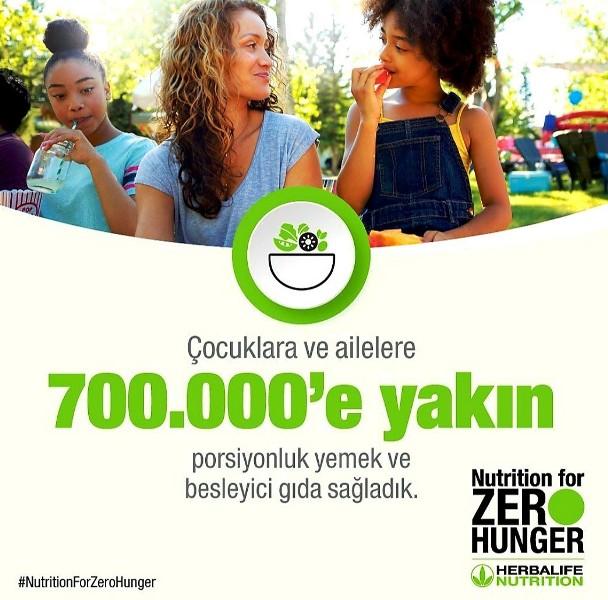 Çocuklara ve ailelere yemek ve besleyici gıda sağladık.