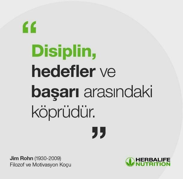 Disiplin hedefler ile başarı arasında bir köprüdür.