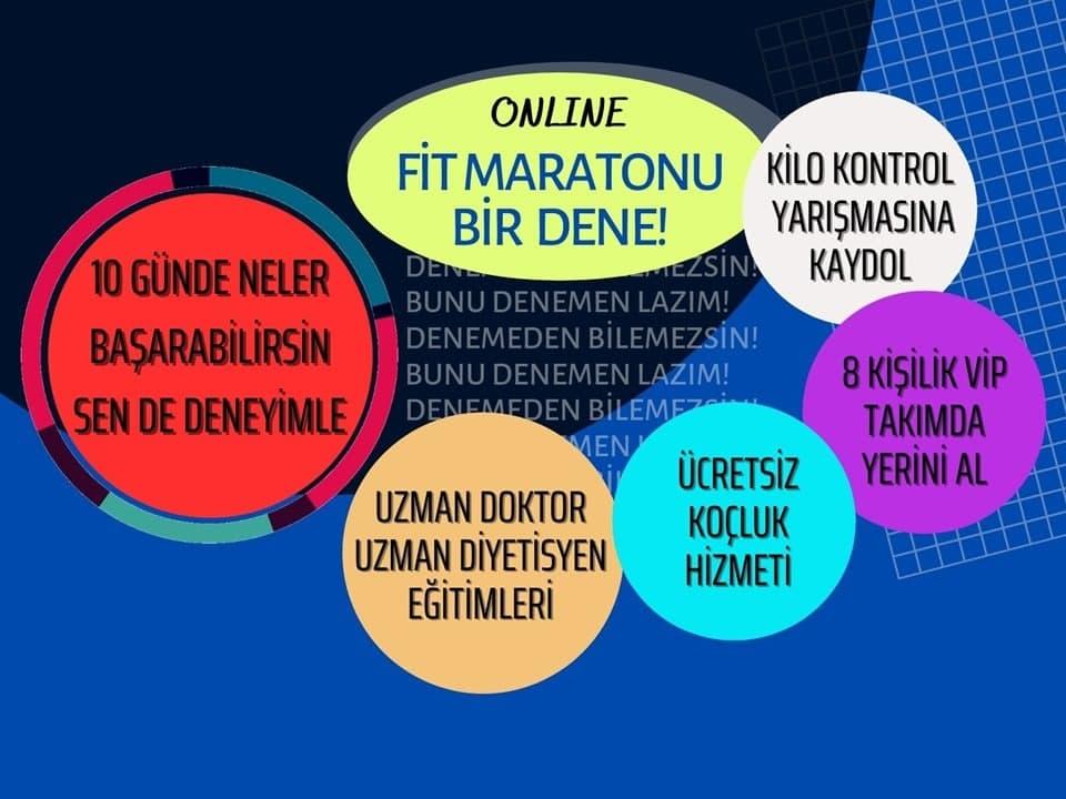 Kilo Verme Yarışması Fit Maraton İle Başarabilirsin! ONLINE
