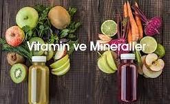 vitaminler ve mineraller hakkında ilginç bilgiler